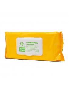 Calenduflor Baby: Toallitas húmedas para el cuidado y limpieza de la piel del bebé en cada cambio del pañal.