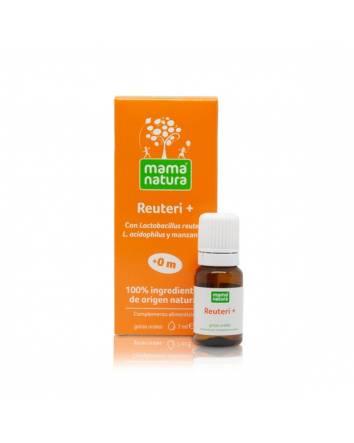 Mama Natura Reuteri+ Probiótico para niños y bebés desde los 0 meses.
