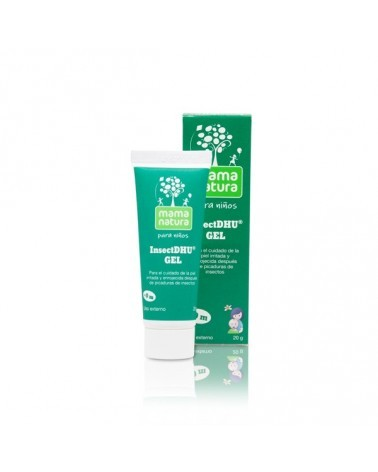 Insect DHU Gel. Gel para cuidar de la piel irritada y enrojecida después de picaduras de insectos.