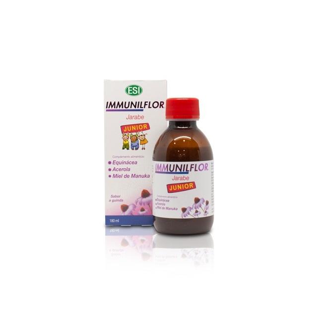 Inmunoflor  Jarabe a base de equinácea que estimula  las defensas naturales de los niños.