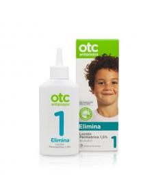 OTC Antipiojos Loción Permetrina 1.5% piojos y liendres - 125 ml.