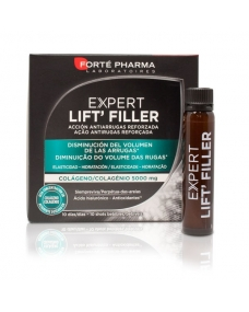 Expert Lift Filler Colágeno Acción Antiarrugas 10 Shots Bebibles
