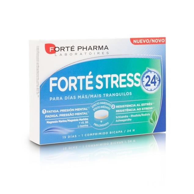 Forte Stress es un complemento alimenticio que te ayudará frente a los periodos de estrés