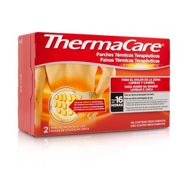 Thermacare Parches Térmicos Terapéuticos Lumbar Cadera 2 uds