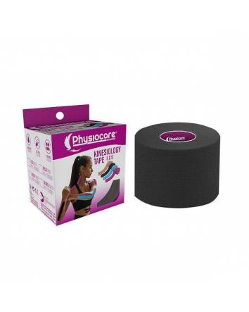 Kinesiology tape Negro 5x5 Physiocare