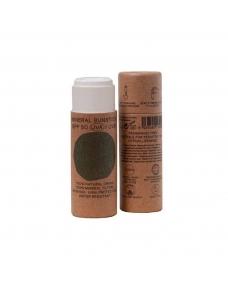 Stick crema solar facial natural SPF+50 Bio18ml Nuura