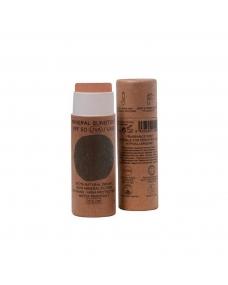 Stick crema solar facial COLOR SPF+50 Bio 18ml Nuura