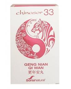 chinasor 33 geng nian qi wan 30 comprimidos