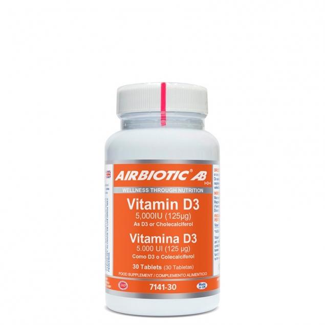 vitamina d3 ab 5000 ui 30 tabs